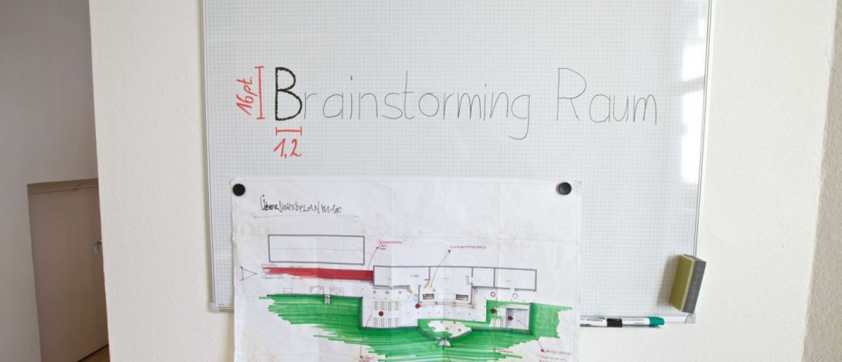 Brainstorming Urbanhouse Wiesbaden